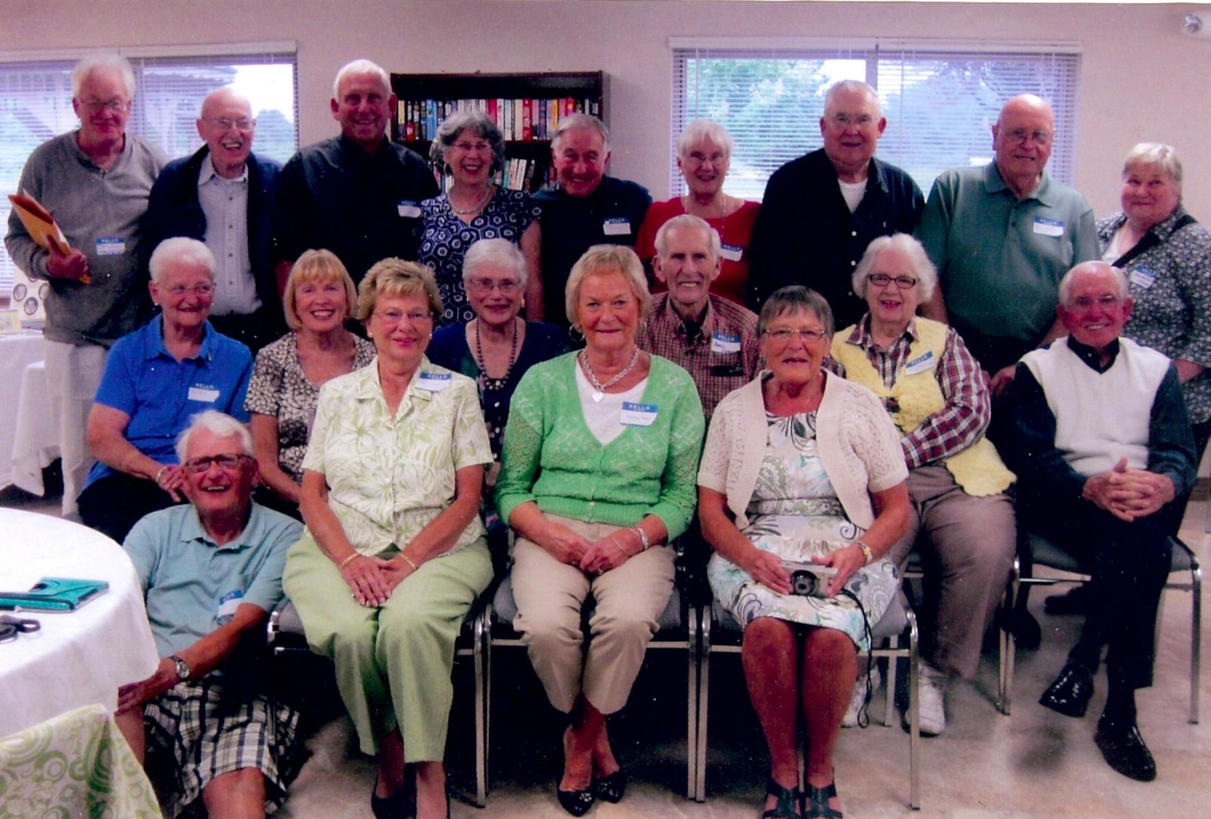 Brockport Class of 1953 meets in Brockport - Westside News